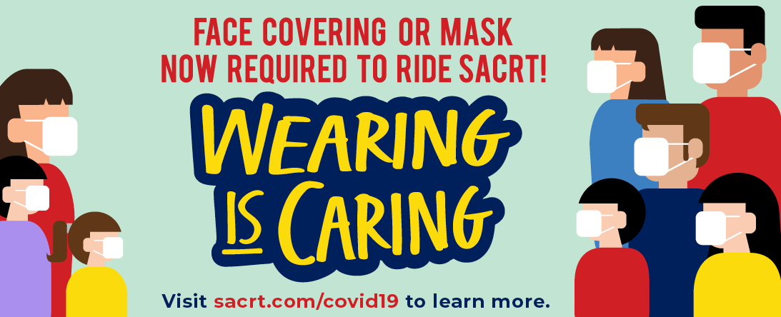 SacRT Mask Required